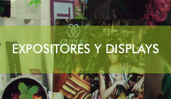 Expositores y Displays